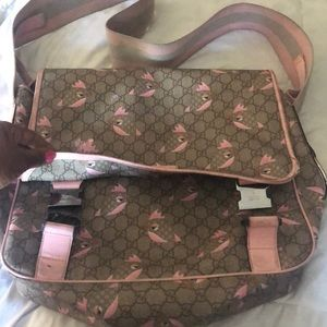 W & U LIFESTYLE/mama's bag/trademark leather tag